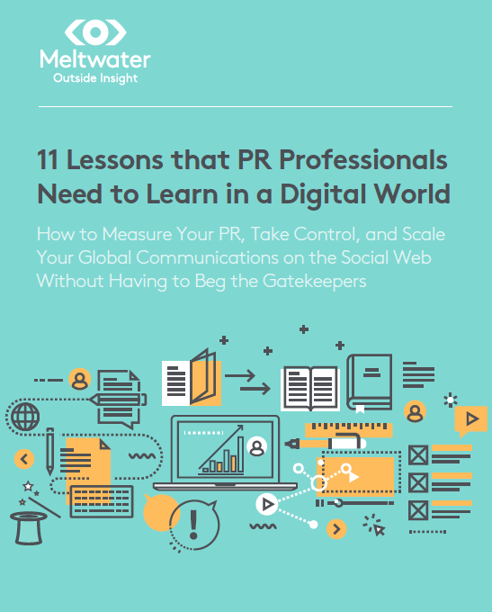11 Lessons That PR Professionals Need ebook cover